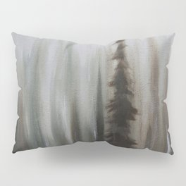 Pacific Northwest Forest oil painting by Jess Purser Pillow Sham