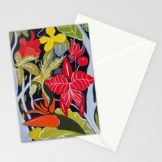 Paradise Flowers Stationery Cards