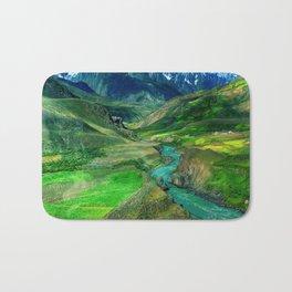 Nature Landscape Bath Mat