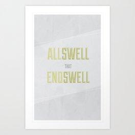 Allswell Art Print