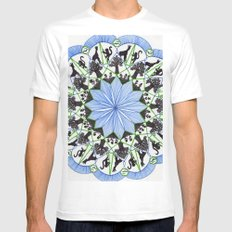 The Circle of Life Mens Fitted Tee MEDIUM White