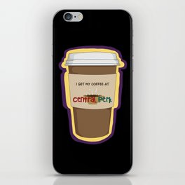 CENTRAL PERK iPhone Skin