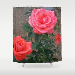 Floral Print 103 Shower Curtain