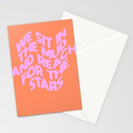 We Sit In The Mud Stationery Cards