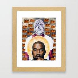 King YE Framed Art Print