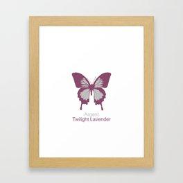 Ulysses Butterfly 14 Framed Art Print