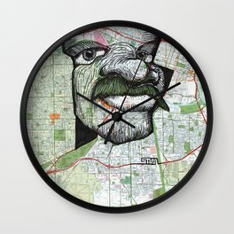 Sacramento, California Wall Clock