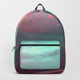 Green sky in the morning, everything is fine Backpack