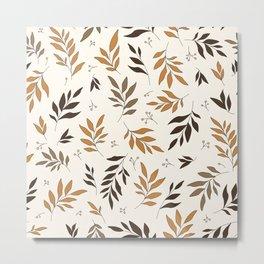 Leaves Of Change Metal Print