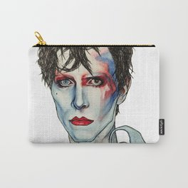 Ashes to Ashes Bowie Carry-All Pouch