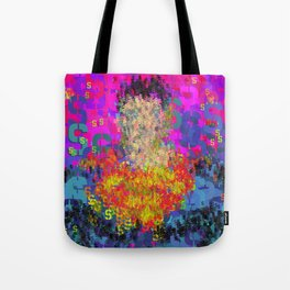 Superhero Type Art Comics SM Tote Bag