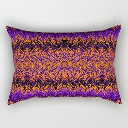 Halloween Tribal Print Rectangular Pillow