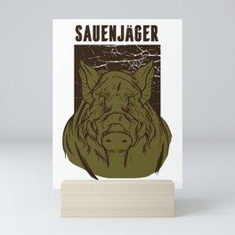 Jaeger sows for hunters Mini Art Print