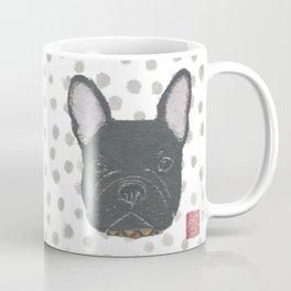 Black French Bulldog, FRENCHIE, Dog Coffee Mug