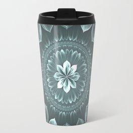 Blossom Within in Platinum Travel Mug