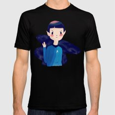 LLAP Black X-LARGE Mens Fitted Tee