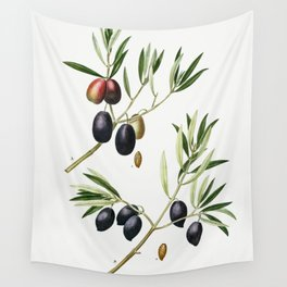 Olive (Olea Europæa)  (1801–1819) by Pierre-Joseph Redouté Wall Tapestry