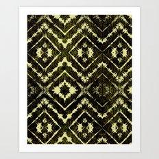 Inkatha Gold Art Print