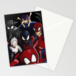Spider-Snap Stationery Cards