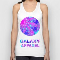 fractal Tank Tops featuring FRACTAL by GALAXY APPAREL