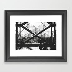 X-X Framed Art Print