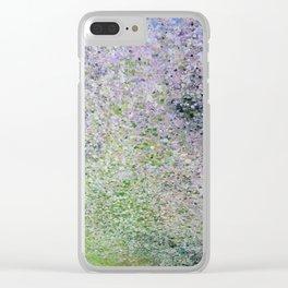 sol verde/ green sun Clear iPhone Case