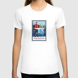 Landmark Series | MN Paul Bunyan Winter T-shirt
