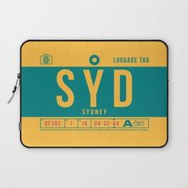 Luggage Tag B - SYD Sydney Australia Laptop Sleeve