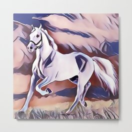 The American Paint Horse Metal Print