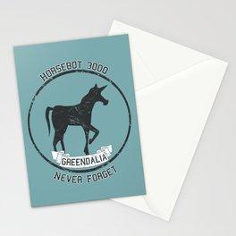 Horsebot 3000 Never Forget - Worn Stationery Cards