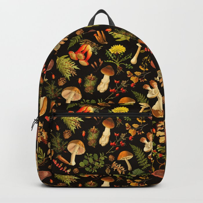 Vintage & Shabby Chic - Autumn Harvest Black Rucksack