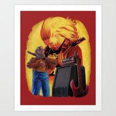 A Tribute To James McLaughlin Art Print