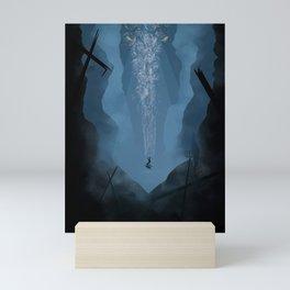The Kraken Mini Art Print