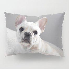 Cream Frenchie Pillow Sham