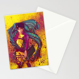 Attack On Titan Fanart - Levi Ackerman (Version 1/5) Stationery Cards