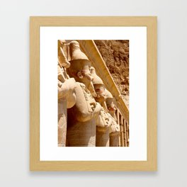 Temple Guards Framed Art Print
