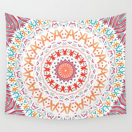 FESTIVAL SUMMER MANDALA SUNSHINE Wall Tapestry
