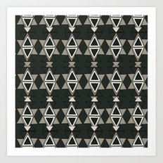 Art Deco Great Gatsby Pattern Art Print
