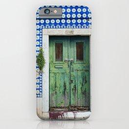 DOOR, LISBON, PORTUGAL iPhone Case