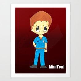 MiniToni Art Print