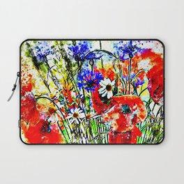 Garden Chock Full of Flowers Laptop Sleeve