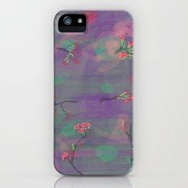 My Purple Spring iPhone Case