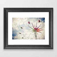 Sky Flyer Framed Art Print