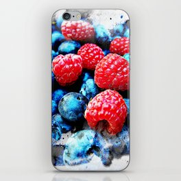 Fruits and berrys V iPhone Skin