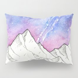 Mountains in the Evening Pillow Sham