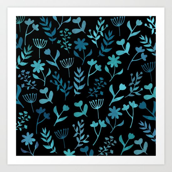 Lovely Pattern XIV Art Print