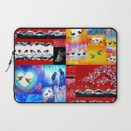 mainly red Laptop Sleeve