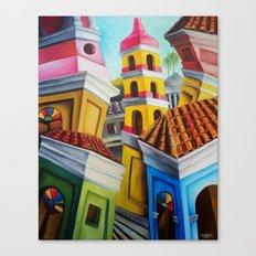 Remedios, Cuban town Canvas Print
