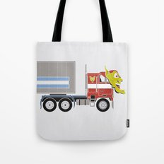 Robot's Wrong Disguise Tote Bag