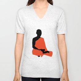 Monk Unisex V-Neck